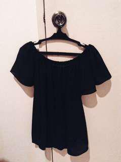Black Off-Shoulders