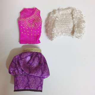 Barbie clothes set