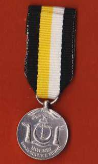 Brunei Long Service Miniature Medal (Pingat Kerja Lama)