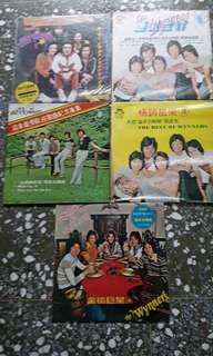 🚚 古董黑膠唱片