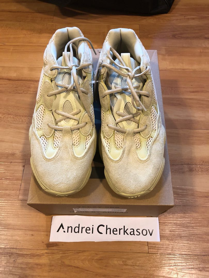 9f796a1d74a Adidas Yeezy 500 Supermoon yellow US12