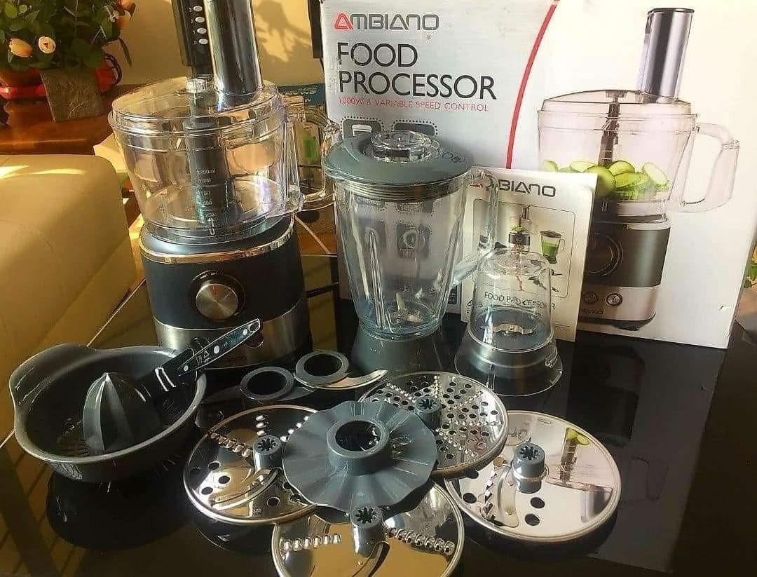 Ambiano Food Processor, Home Appliances, Kitchenware on