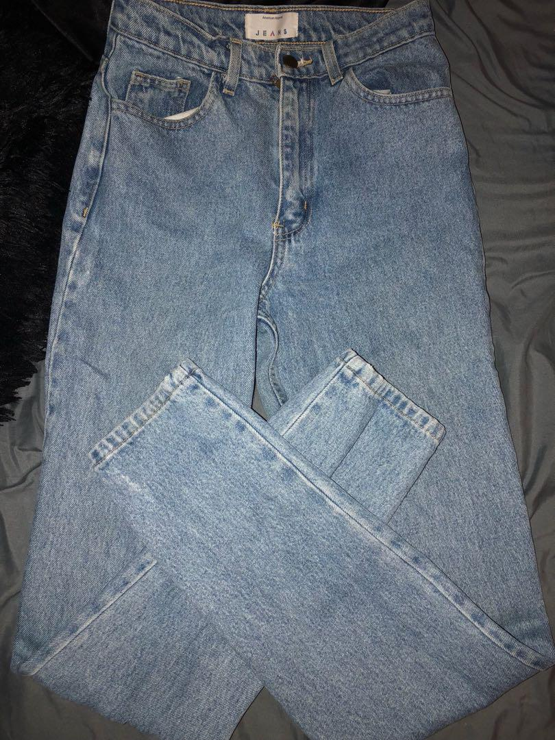 American Apparel High Waisted Jean - Sz 27