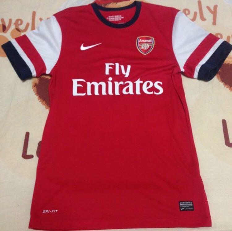 brand new 0ff61 e419f Arsenal 13/14 home kit jersey Ozil 11 nike size S, Sports ...