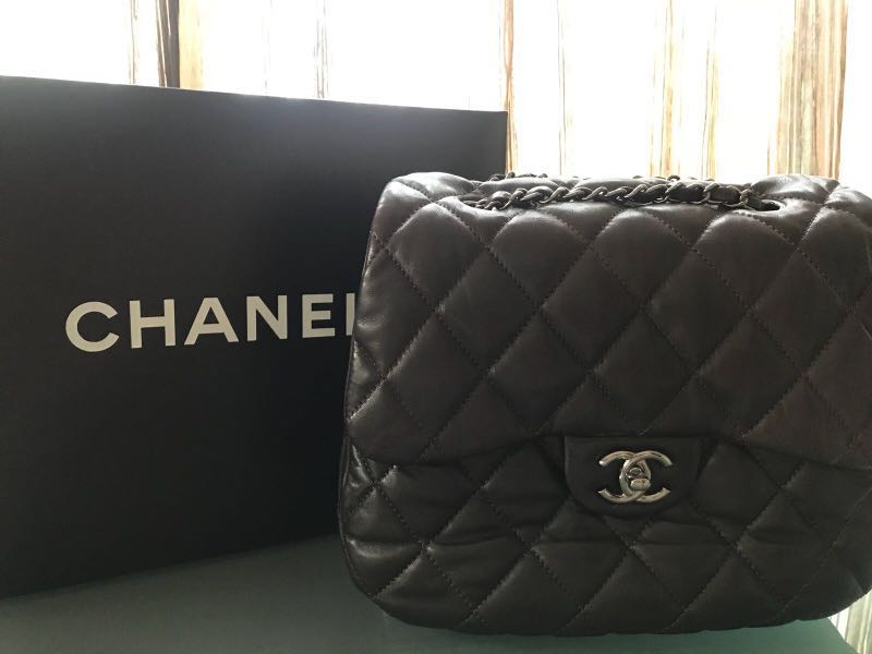 6ea6f9981971 Authentic Chanel Bubble Quilt Flap Bag, Luxury, Bags & Wallets ...