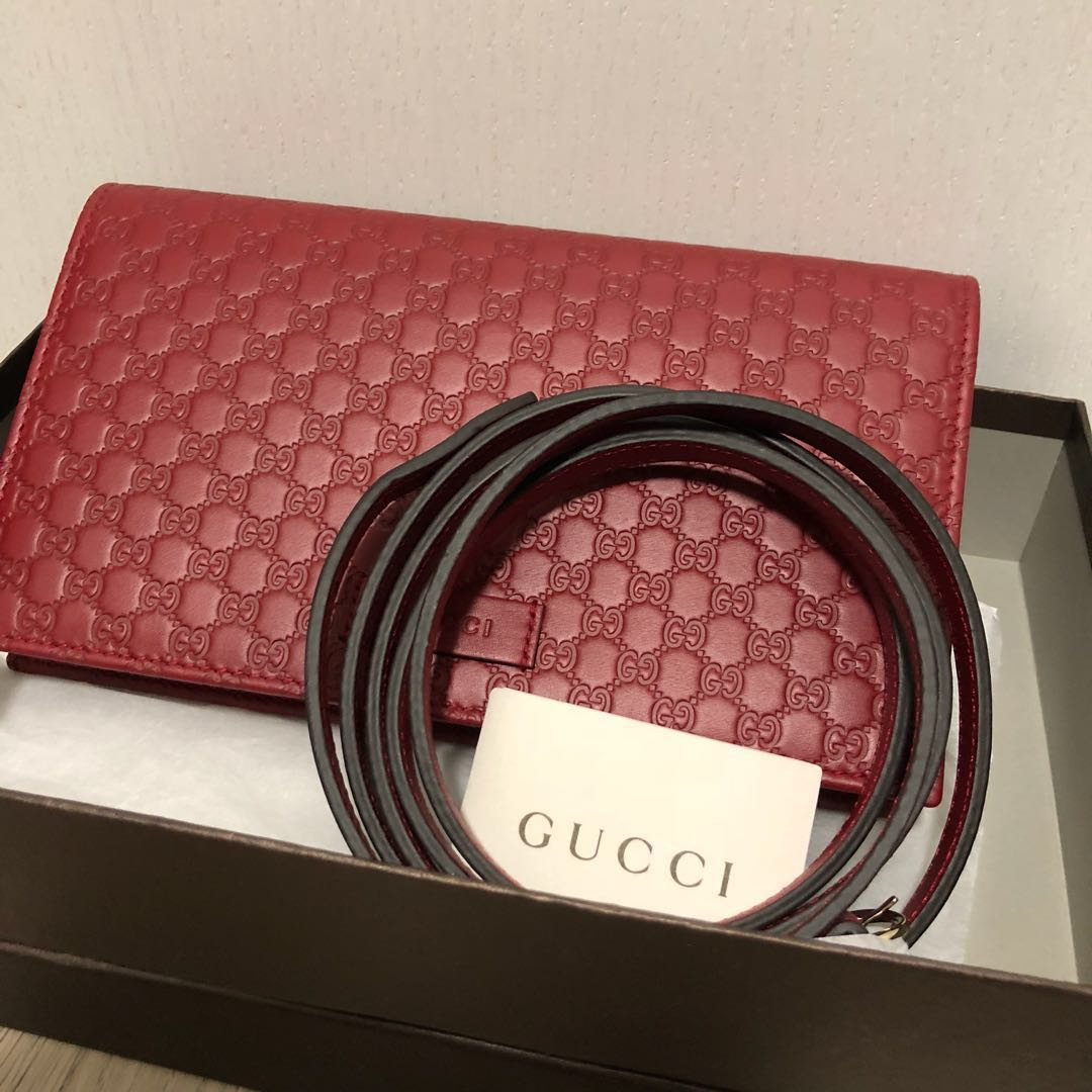 f53089cec52 Authentic Gucci Wallet on Chain