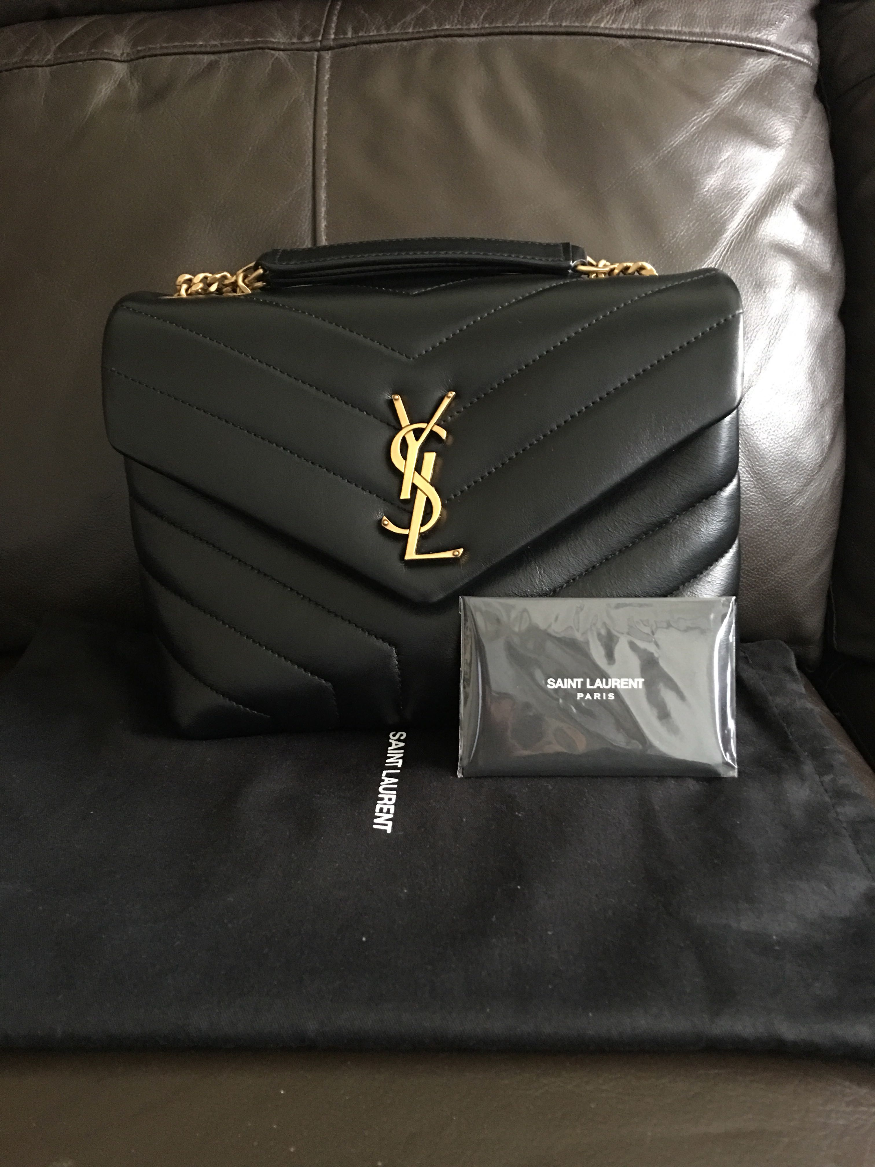 f2a202bc7a0 Authentic YSL loulou small bag, Luxury, Bags   Wallets, Handbags on ...