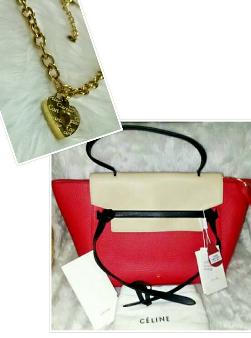 AUTJENTIC QUALITY CELINE BELT BAG WITH FREE AUTHENTIC QUALITY ... 865ce757e1bee