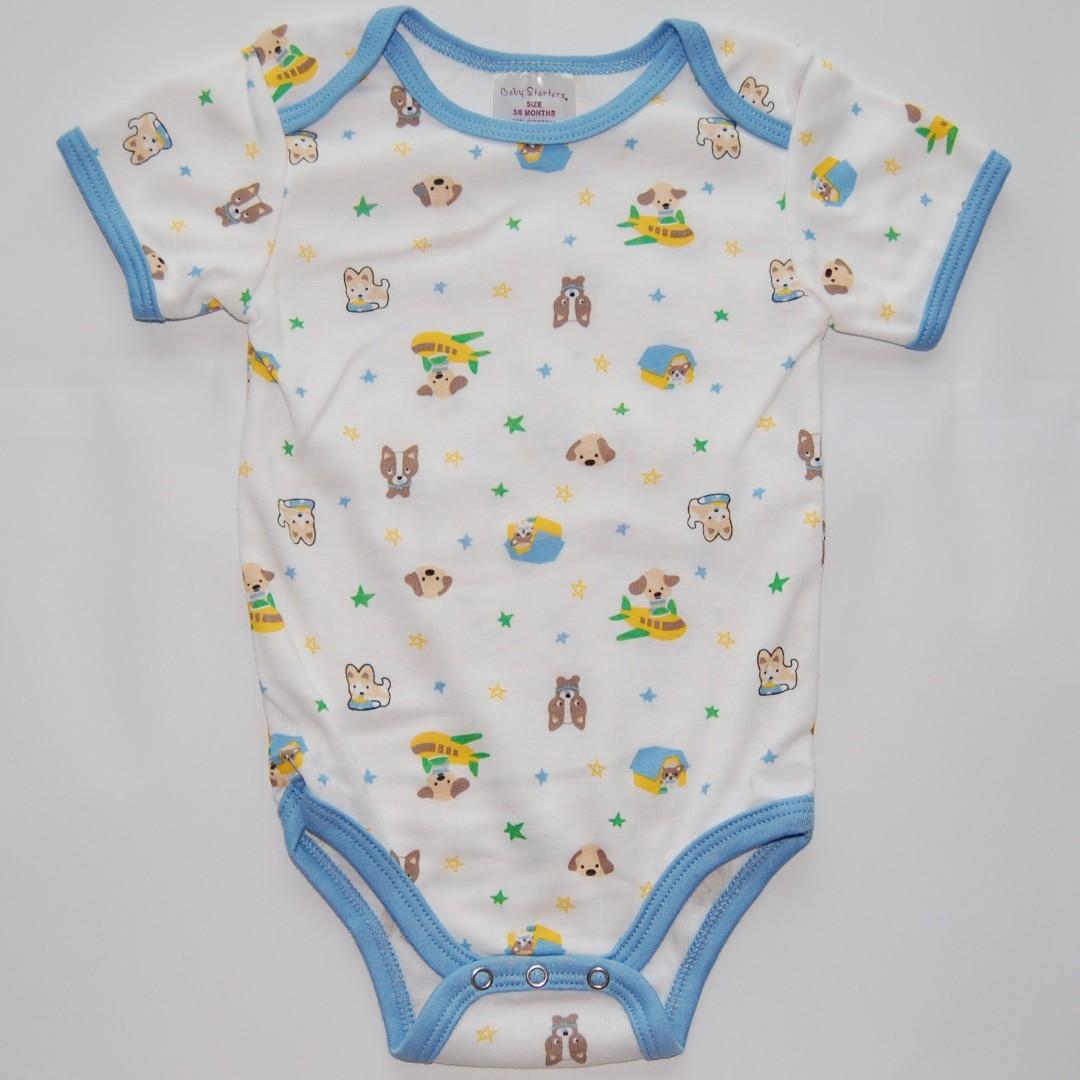 c7750a7356e4 Baby Romper Bodysuit Boy Sleepwear Pajama Onesies (6-9 months ...