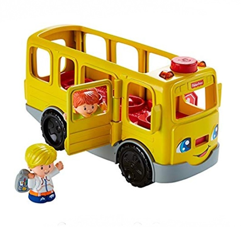(OOS) BN Fisher-Price Little People Sit with Me School Bus Vehicle Toy