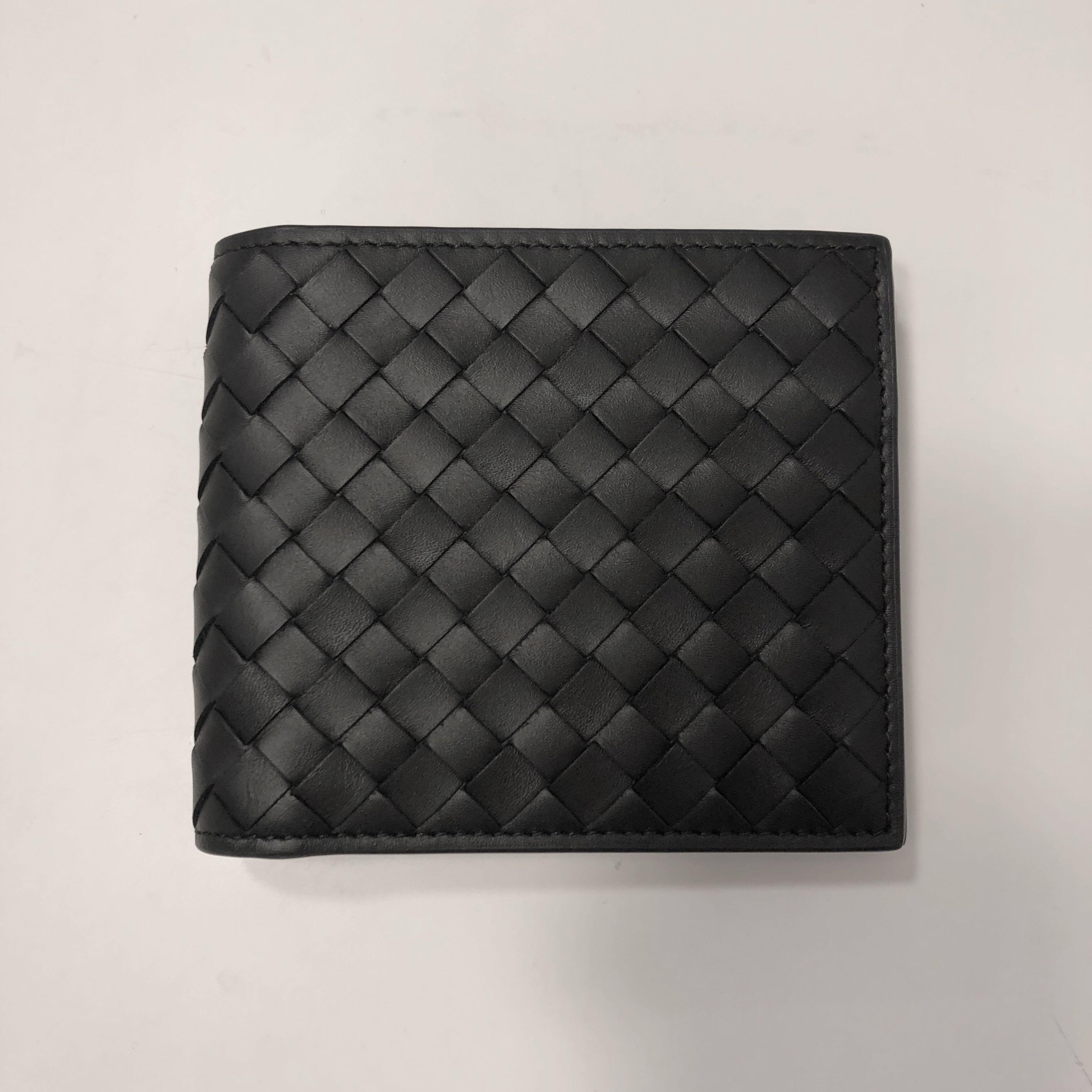 8056ec9dad53 Bottega Veneta Bi-Fold Wallet with Coin Purse
