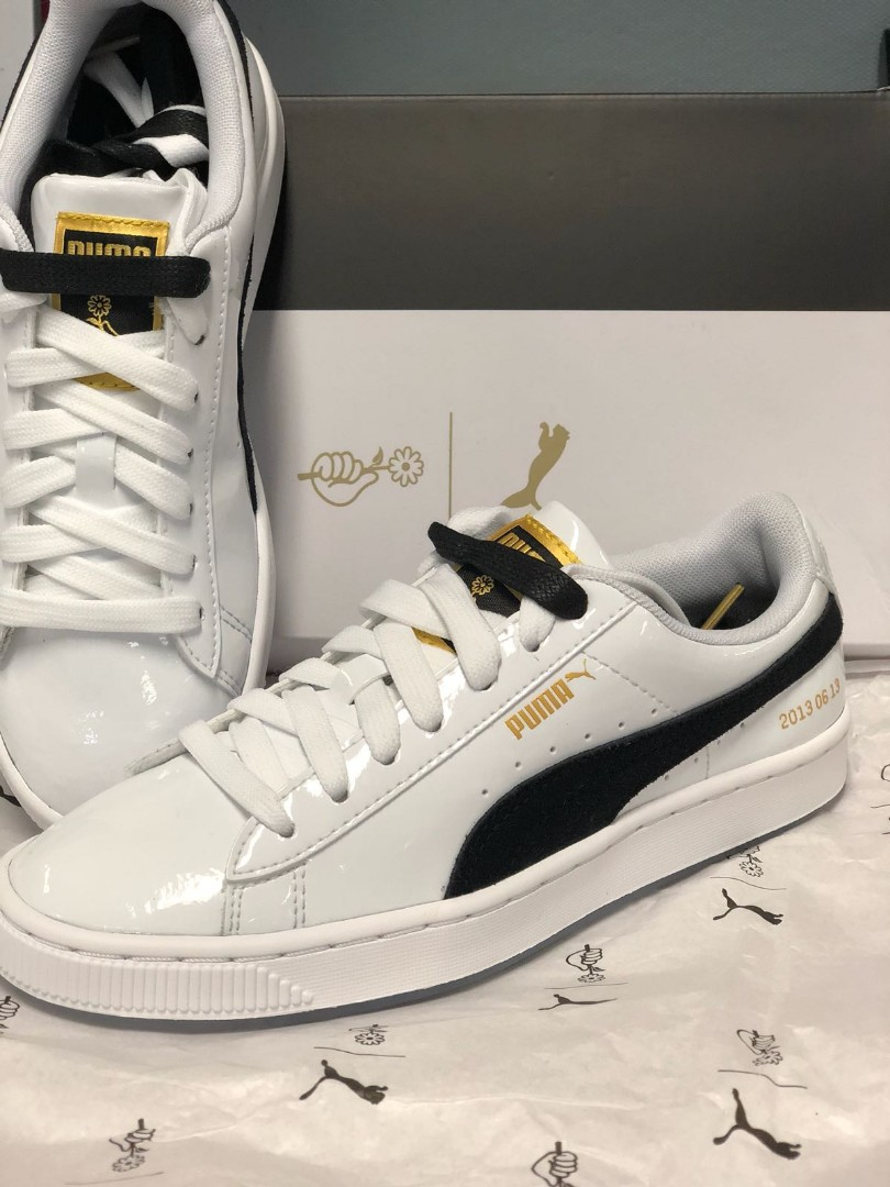 BRAND NEW] PUMA x BTS Basket Patent Sneakers [LIMITED ...