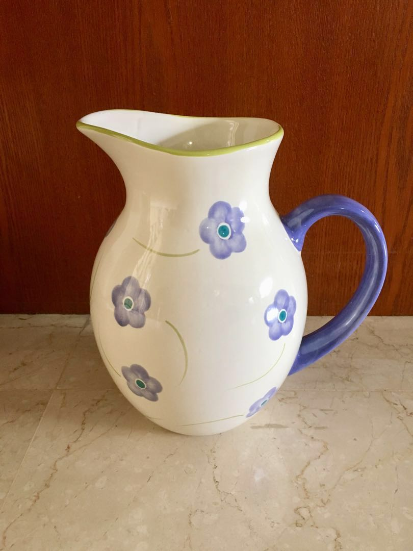 Ceramic Jug Vase Furniture Home Decor Others On Carousell