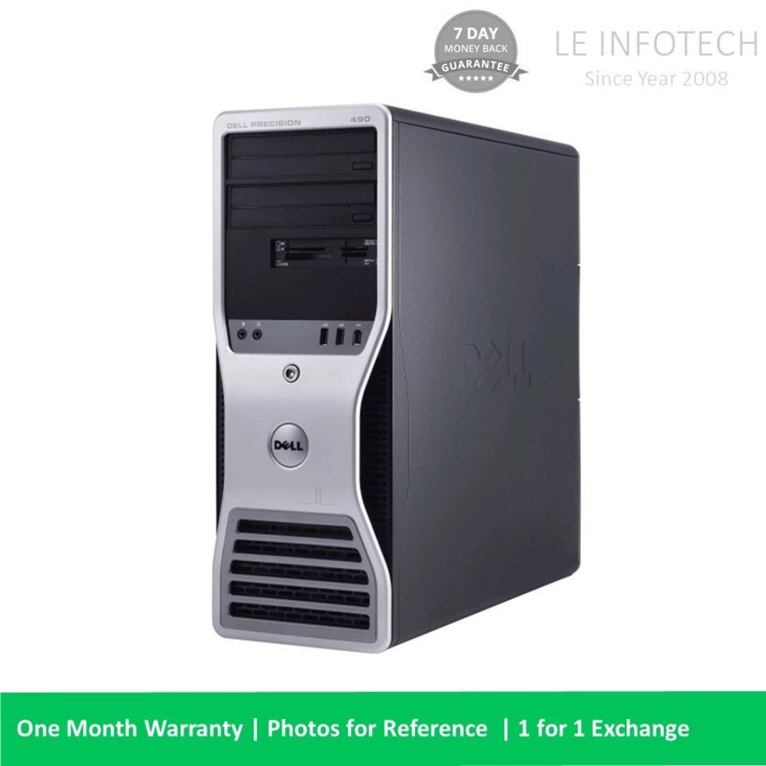 Dell Precision T5500 Workstation Intel Xeon 8GB 500GB Quadro