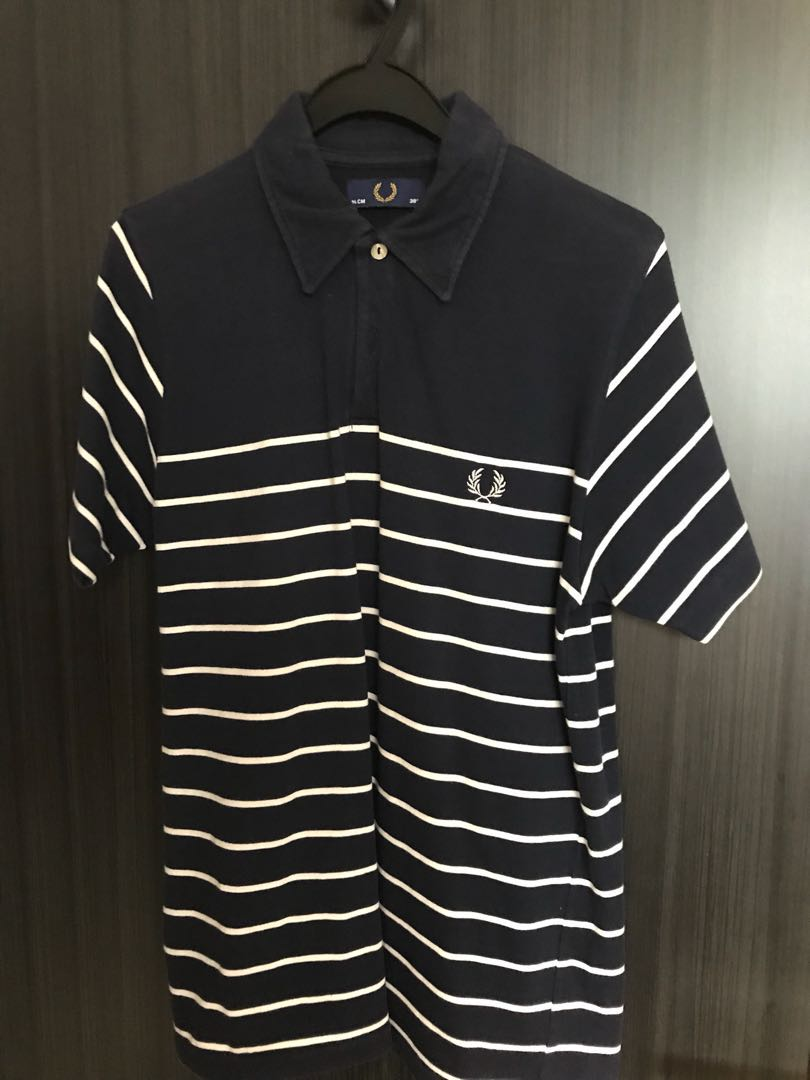 2051fda5f Fred Perry Polo Shirt, Men's Fashion, Clothes, Tops on Carousell