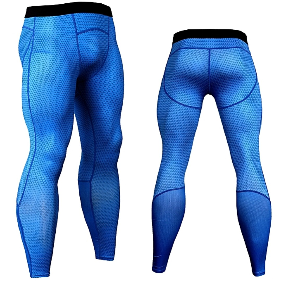92c678651b Generic Men Compression Sports Running Pants, Men's Fashion, Clothes,  Bottoms on Carousell