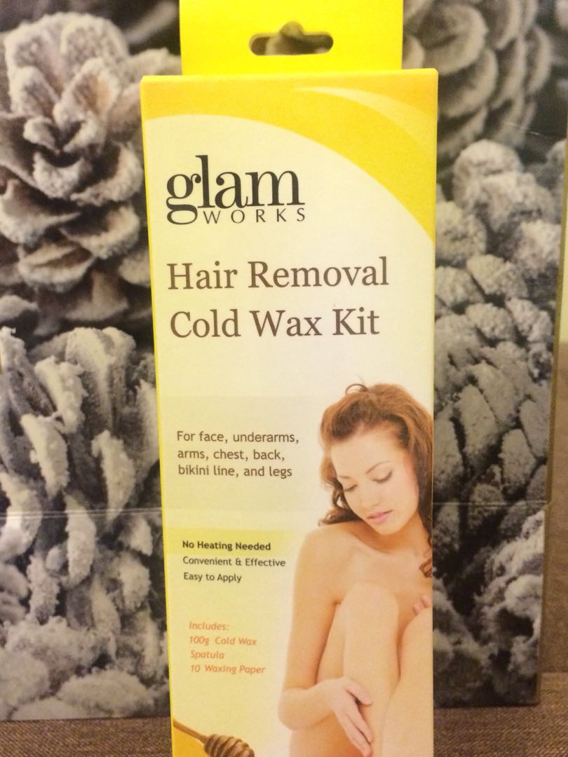 Glam Hair Removal Cold Wax Kit Health Beauty Skin Bath
