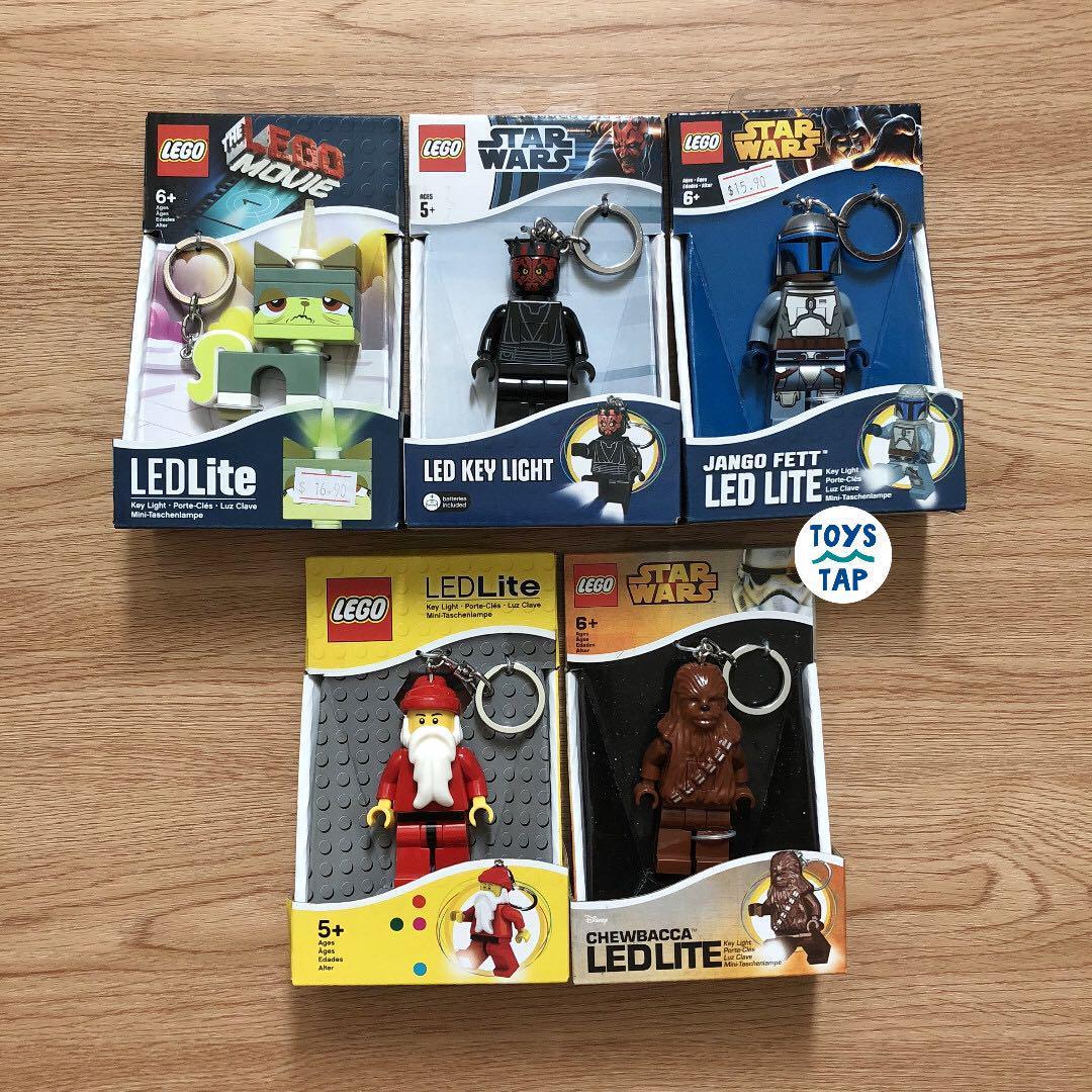 Lego Santa Keylight