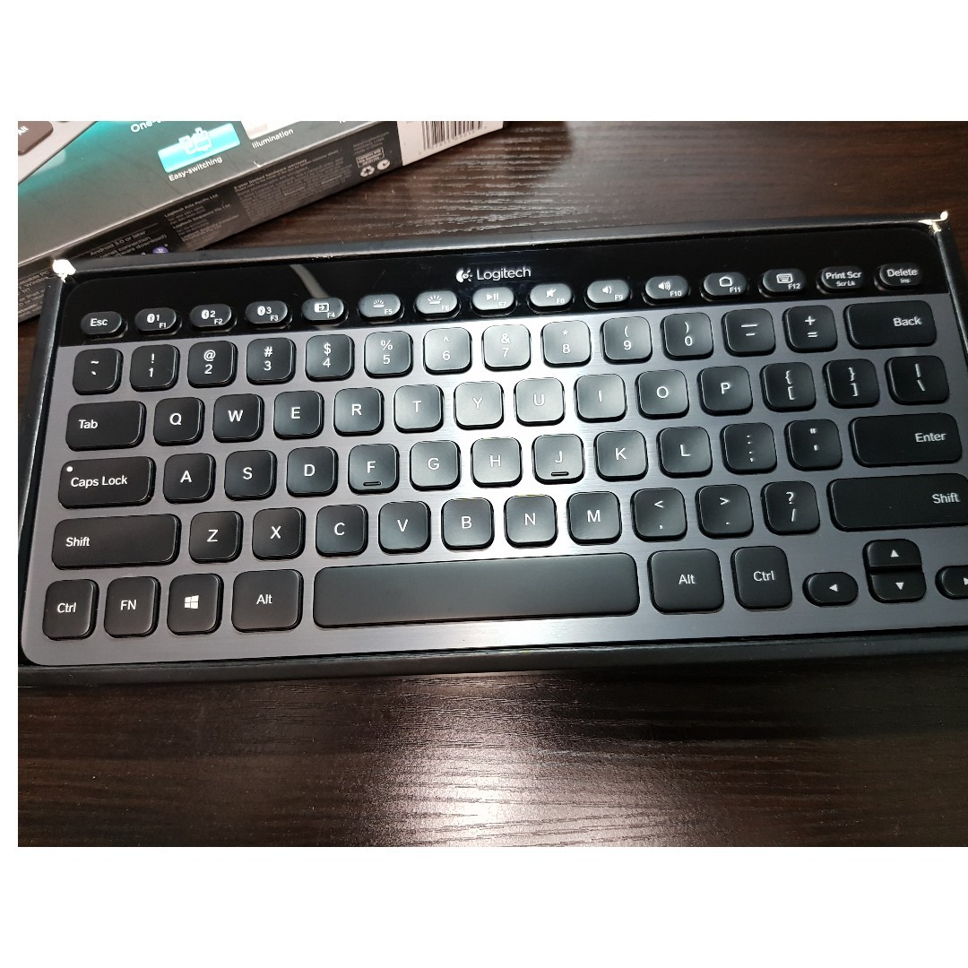 530c4b66a59 Logitech K810 Bluetooth Illuminated Keyboard, Electronics, Computer Parts &  Accessories on Carousell