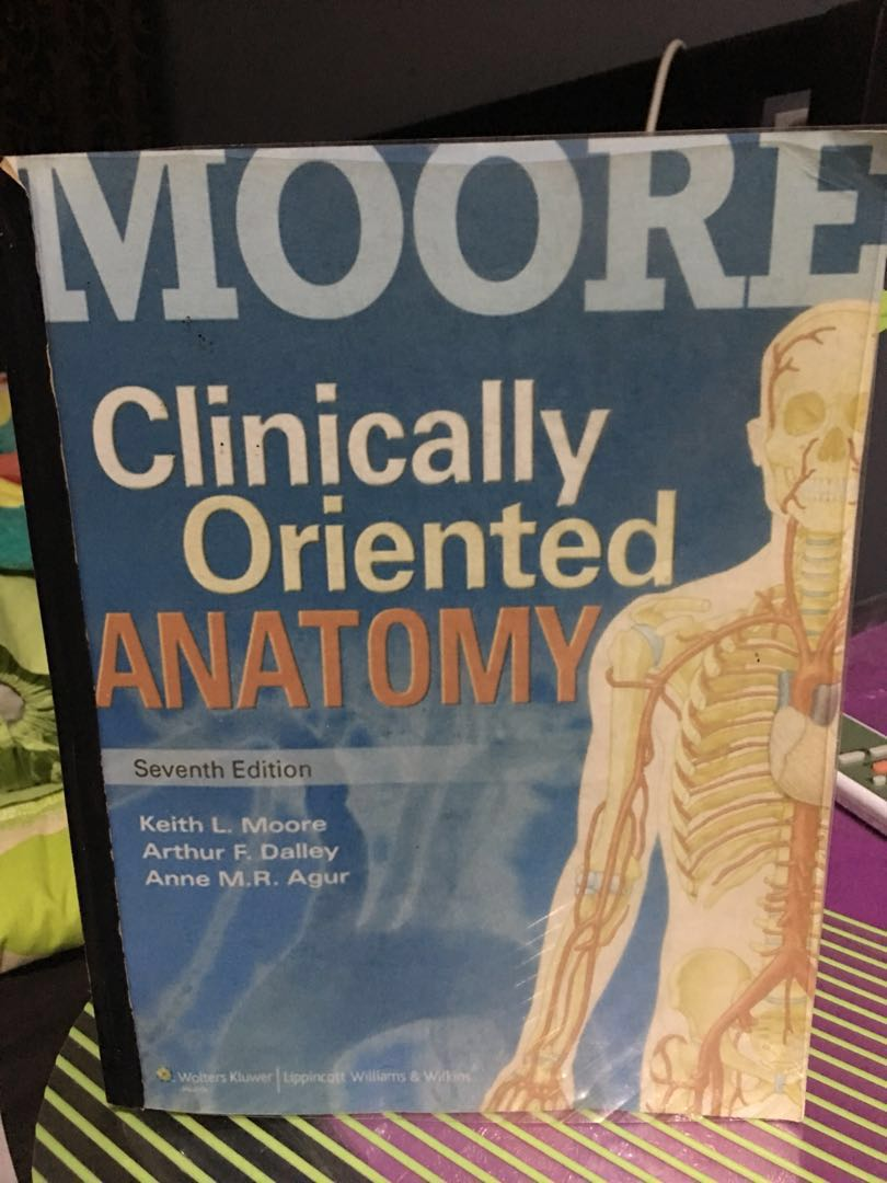 Moore Clinically Oriented Anatomy 7th edition, Textbooks on Carousell