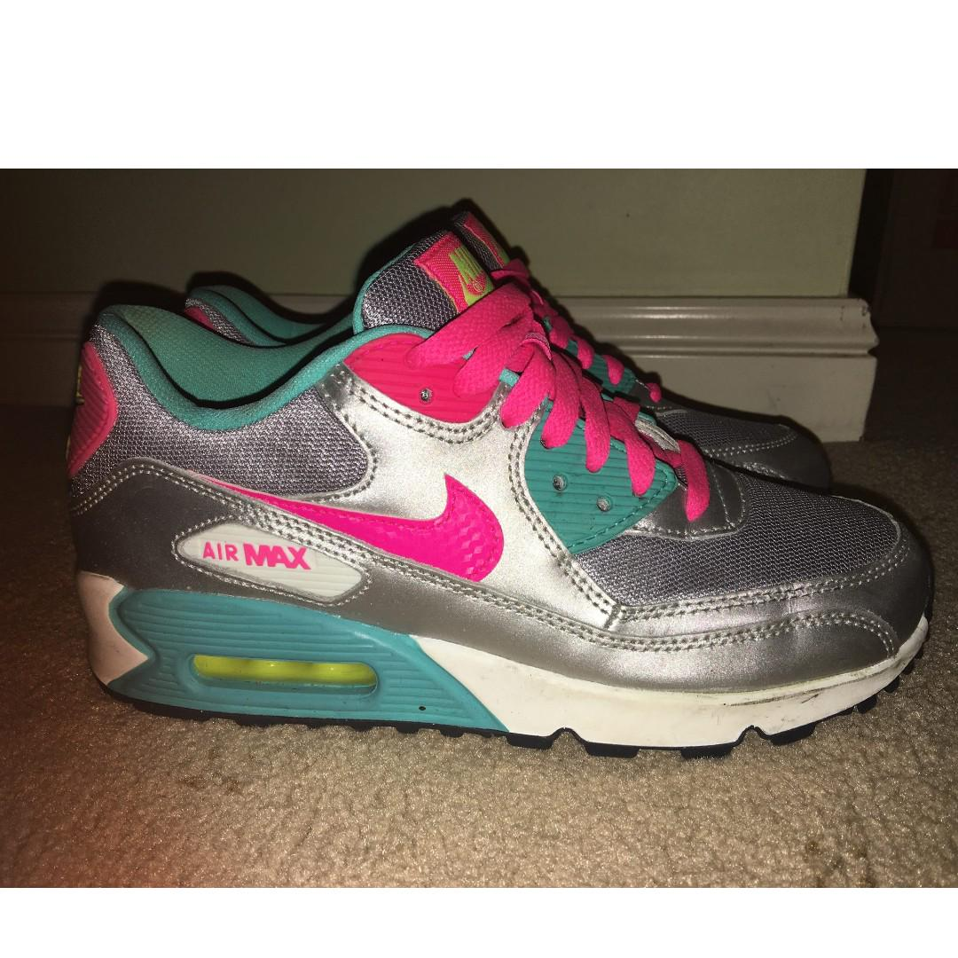 Nike Air Max 90, Women's Fashion, Shoes on Carousell