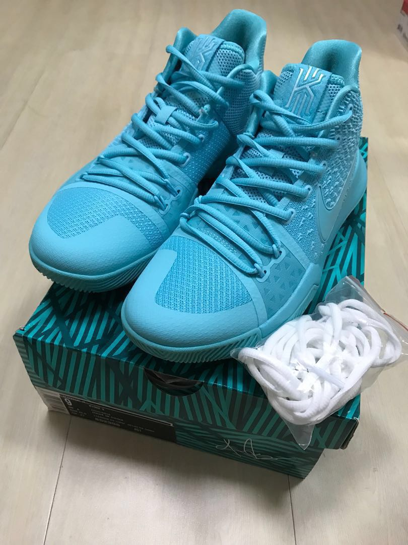 0f19d8c5f636 Nike Kyrie 3 Basketball Shoes 籃球鞋Aqua Tiffany Blue