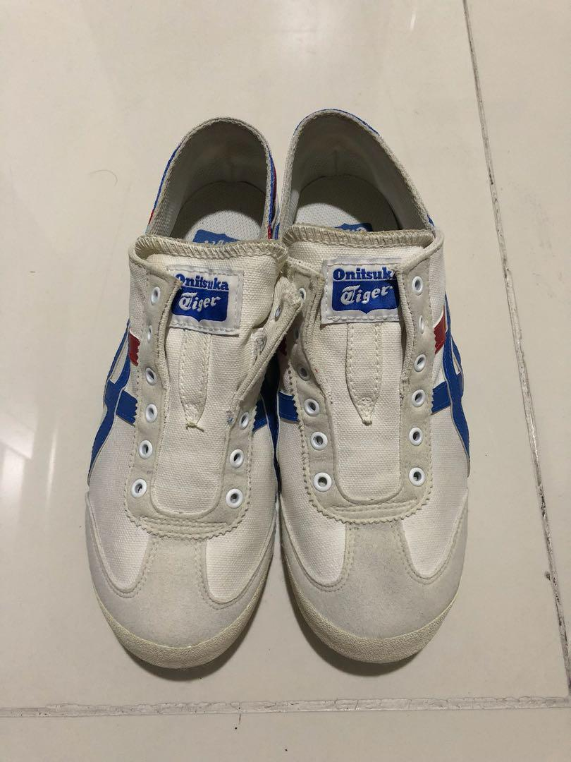 newest 90617 a2e87 Onitsuka Tiger slip-ons on Carousell