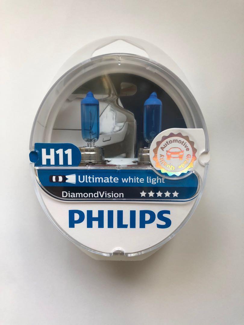 Philips Diamond Vision H11, Car Accessories, Electronics