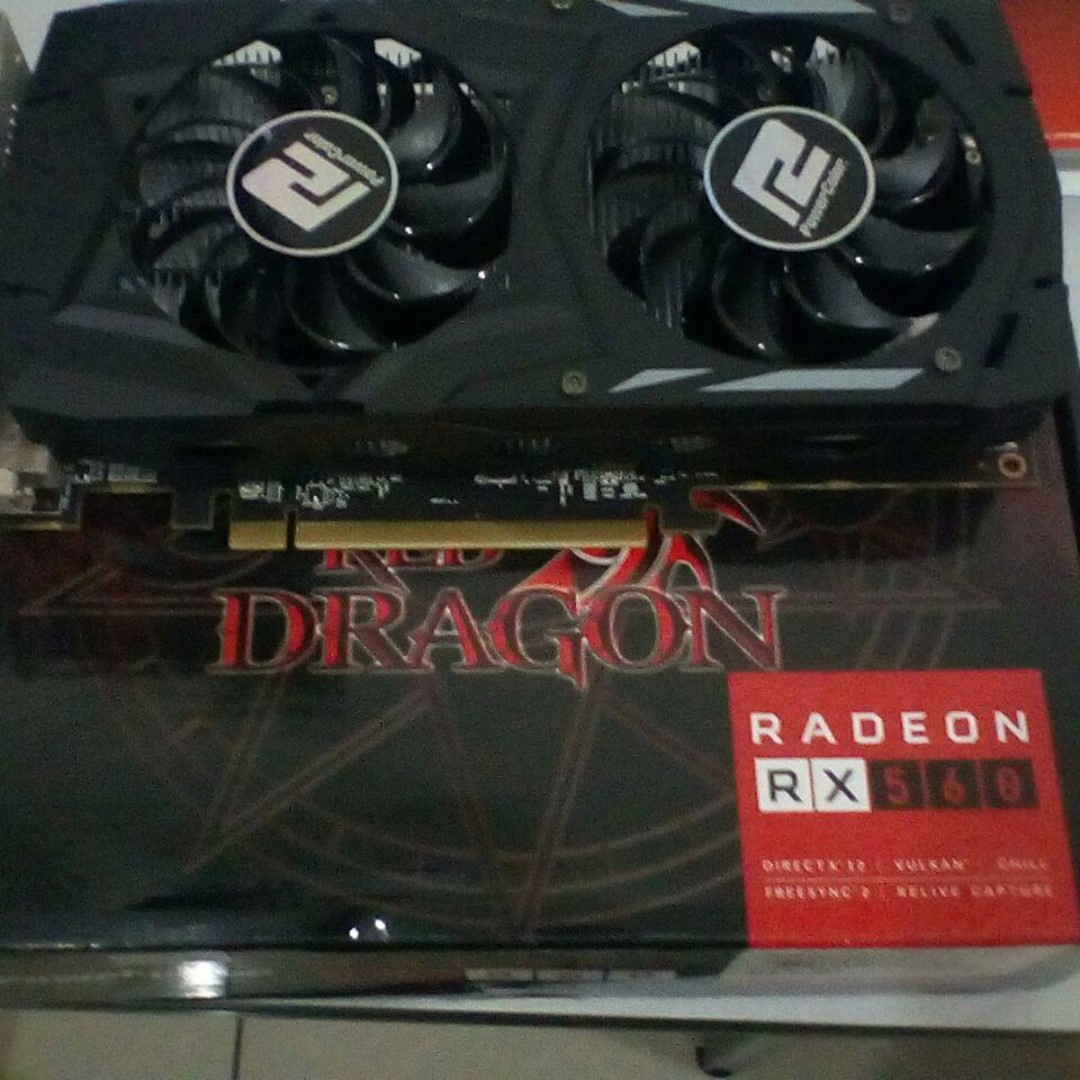 Powercolor AMD Radeon RX 560 2GB GDDR5 GPU