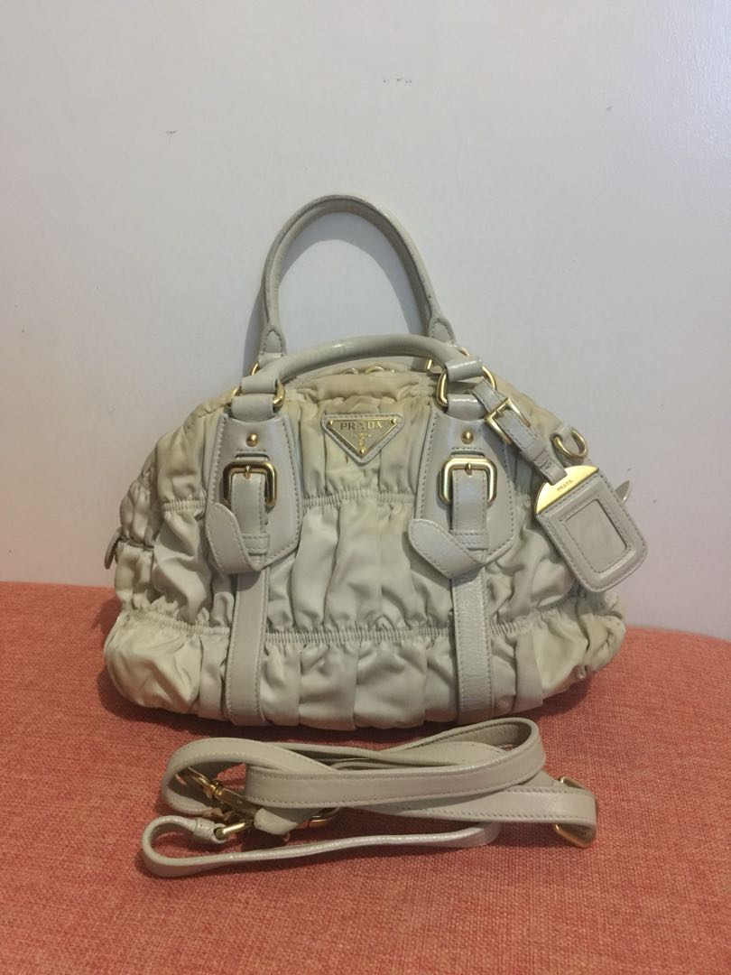 191995e70c27 ... promo code for prada 2way hand bag sling bag preloved womens fashion bags  wallets on carousell ...
