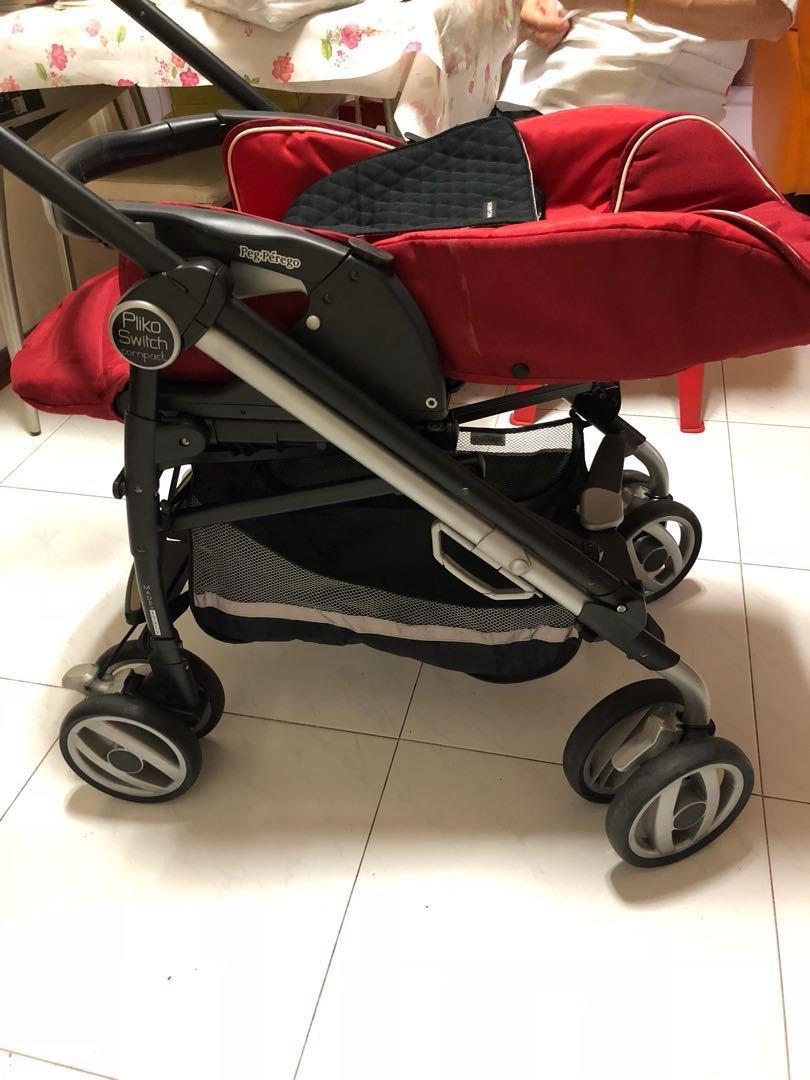 85930499a2b Preloved Baby Stroller- Perego Pliko Switch Compact