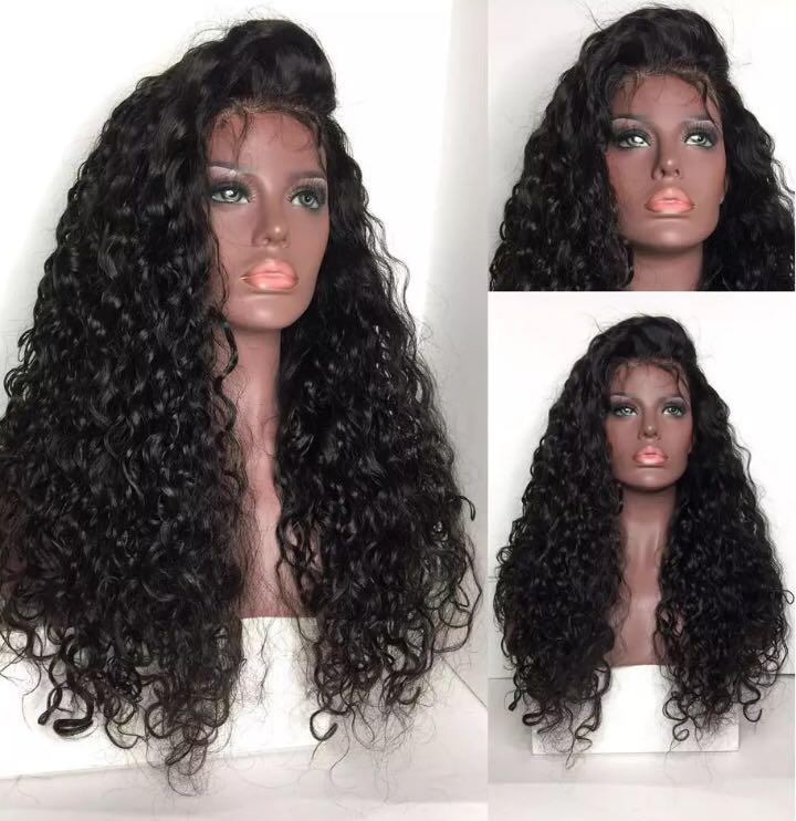 Price depends on lengths ..... curly lace front human hair wig