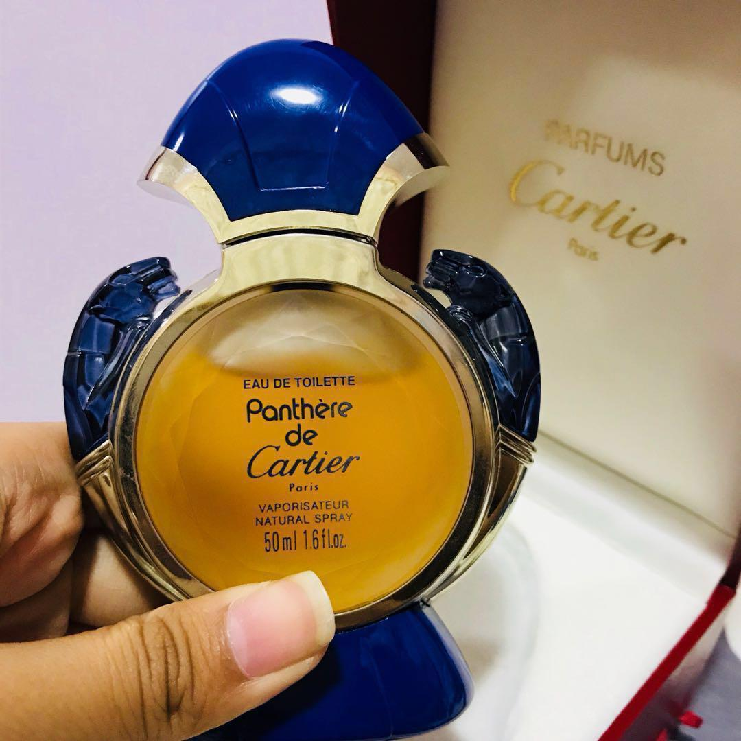 Repriced Authentic Cartier Perfume Vintage Eau De Toilette