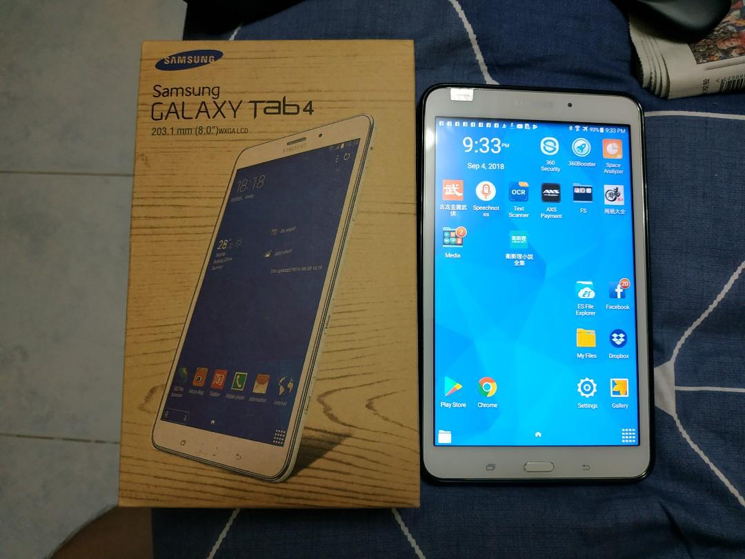Samsung Tab 4 8 inches 16GB WiFi+4G
