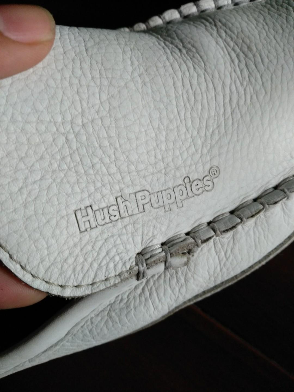 sandal kulit merk Hush Puppies original