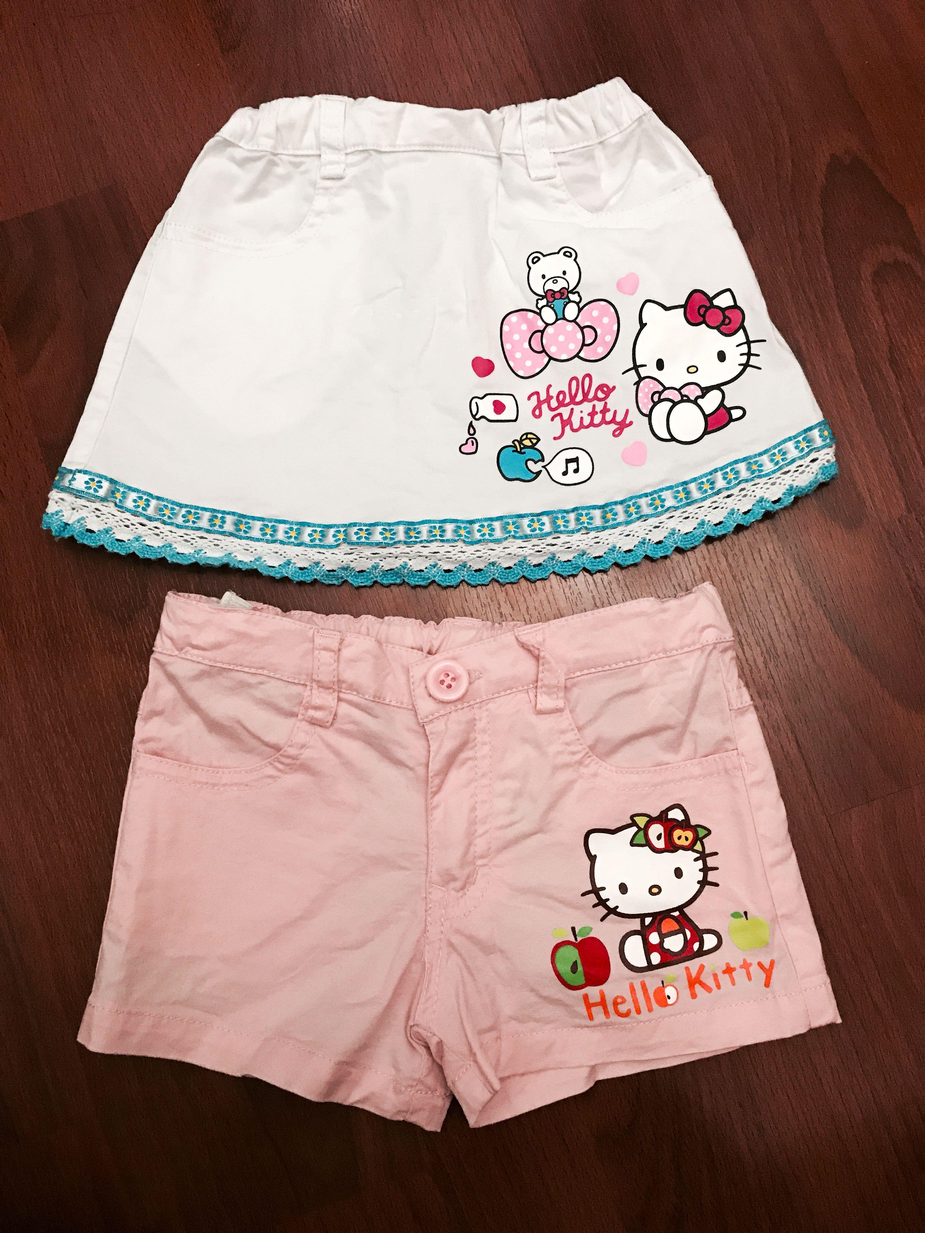 acd212da7 Sanrio Hello Kitty Shorts/Skirt, Babies & Kids, Babies Apparel on Carousell