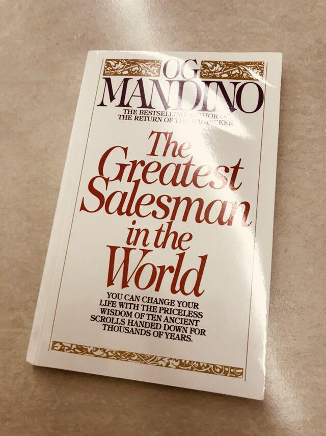 The Greatest Salesman In The World By OG Mandino Books