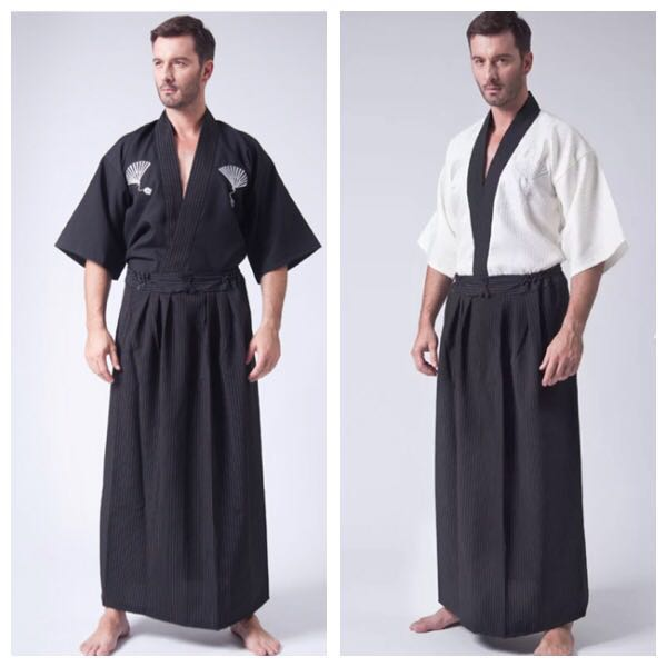 Traditional Japanese Costume Hoari Racial Harmony Day Men S Fashion