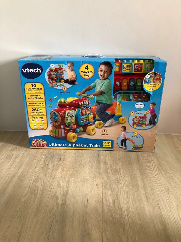 Ultimate Alphabet Train Vtech Babies Kids Toys Walkers On