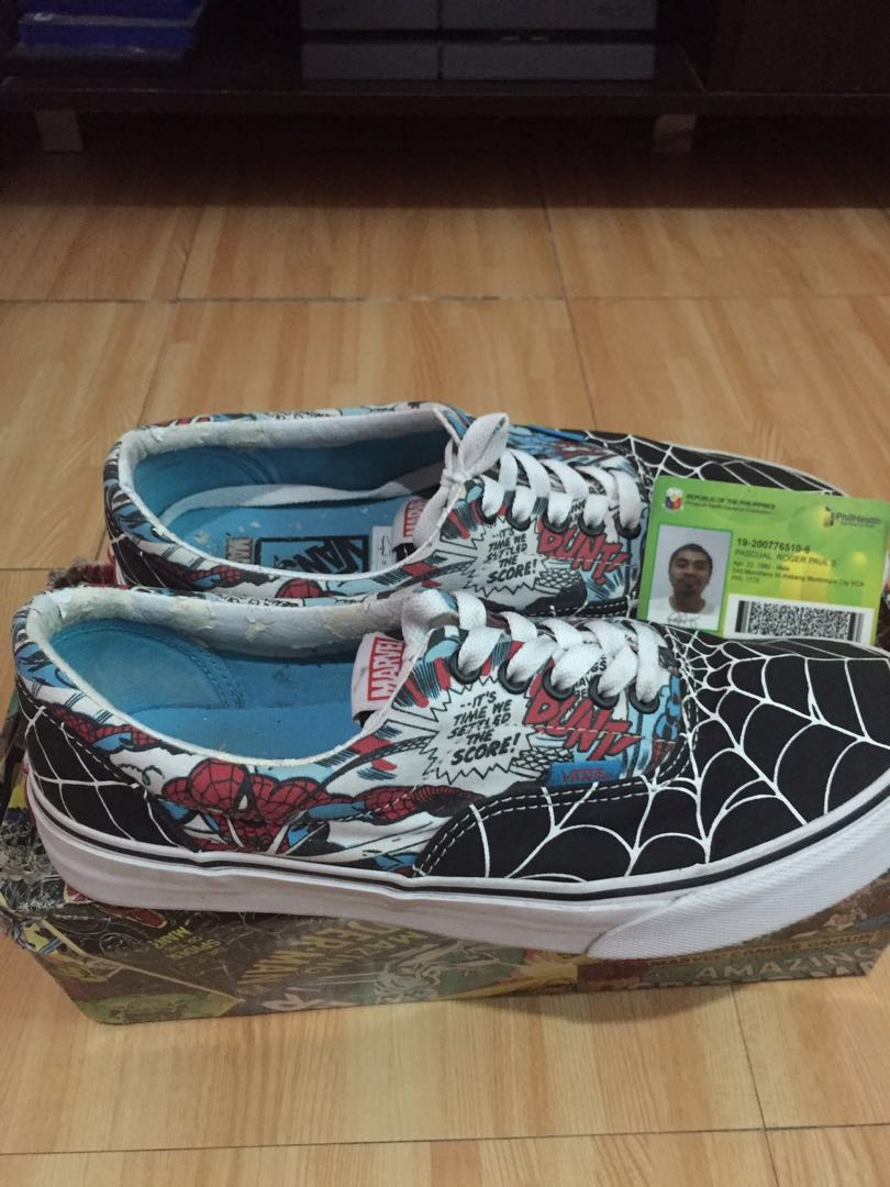 3e806d13ab0 Vans Era X Marvel Spiderman