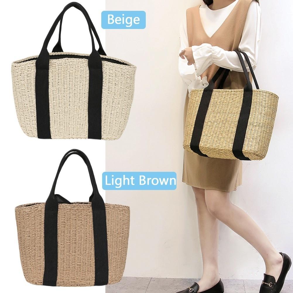 1a1b745390a 🏆Zara Same Design Rottan Tote Bag 🏆