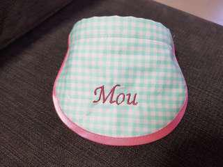 Customised bib for dogs and cats