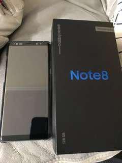 Note 8 128 GB 紫色 全套齊