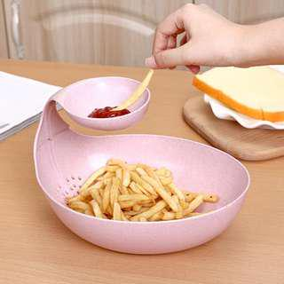 PO- Creative Multi Purpose Fries/Fruit/Nuts Bowl