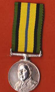Brunei Police 1965 Miniature Medal (Pingat miniature Polis DiRaja Brunei 1965)