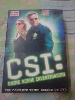 CSI (the complete third season on dvd)
