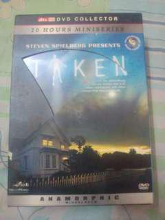 Dvd  Movie -Taken (dvd collector)