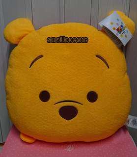 禮物:香港迪士尼「加利布尼市集」攤位遊戲 winnie the pooh cushion