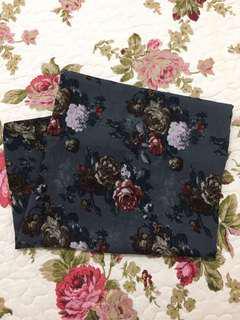 Printed Floral Shawl