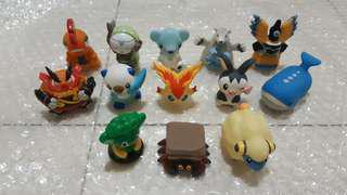 Pokemon Bandai Kids Finger Puppet Figures